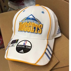 Denver Nuggets Adidas Flex Fit Hats